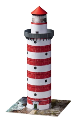 Lighthouse - 216pc 3D Jigsaw Puzzle By Ravensburger