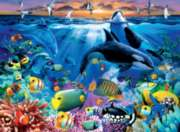 Oceanic Life - 200pc Jigsaw Puzzle By Ravensburger
