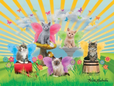 Garden Kitties - 300pc Jigsaw Puzzle By Ravensburger