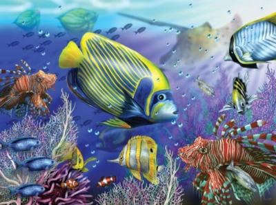 Ravensburger Large Format Jigsaw Puzzles - Beneath the Waves