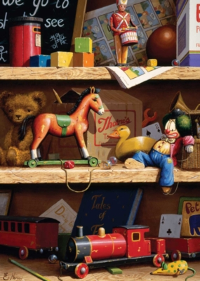 Toy Shelf - 300pc Large Format Jigsaw Puzzle By Ravensburger
