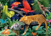 Chromadepth Jigsaw Puzzles - Wild Jungle (With 3D Glasses)