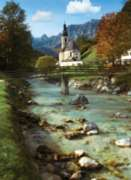 Ramsau Church, Germany - 500pc Jigsaw Puzzle By Ravensburger