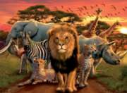 African Splendor - 500pc Jigsaw Puzzle By Ravensburger