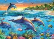 Dolphin Cove  - 500pc Jigsaw Puzzle By Ravensburger