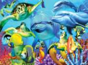 Underwater Smiles - 500pc Large Format Jigsaw Puzzle By Ravensburger