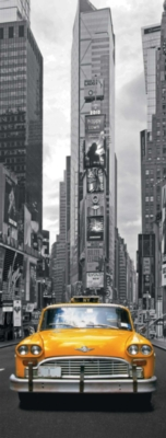 New York Taxi - 1000pc Vertical Panoramic Jigsaw Puzzle By Ravensburger