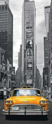 New York Taxi - 170pc Vertical Mini Jigsaw Puzzle By Ravensburger