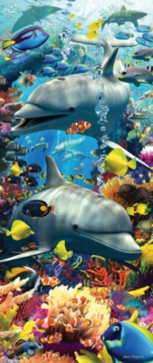 Ravensburger Jigsaw Puzzles - Swimming Dolphins