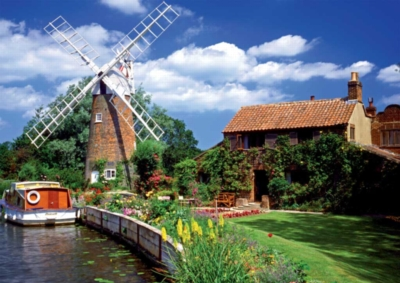 Windmill Country - 1000pc Jigsaw Puzzle By Ravensburger