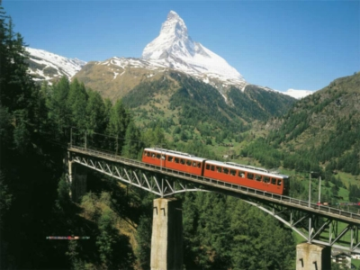 Matterhorn Train - 1000pc Jigsaw Puzzle By Ravensburger