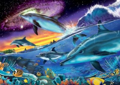Ravensburger Jigsaw Puzzles - Splendid Dolphins