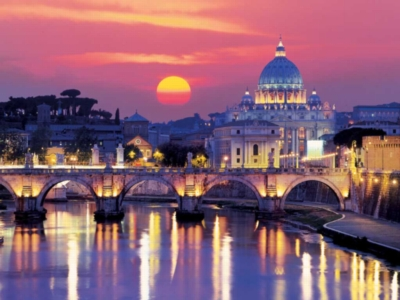 Ravensburger Jigsaw Puzzles - Evening in Rome