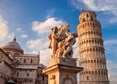 Tower of Pisa - 1500pc Jigsaw Puzzle By Ravensburger