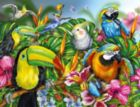 Tropical Birds - 2000pc Jigsaw Puzzle By Ravensburger