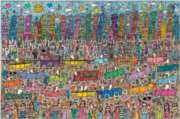 James Rizzi: City - 5000pc Jigsaw Puzzle By Ravensburger