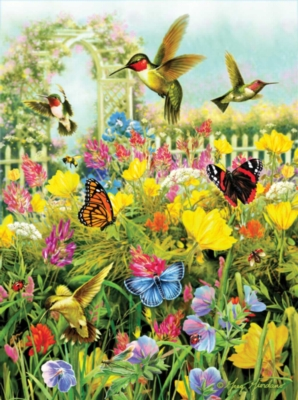 Summer in the Meadow - 1000pc Jigsaw Puzzle By Ravensburger
