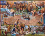 The Voyage of Lewis & Clark - 1000pc Jigsaw Puzzle By White Mountain