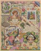 Spring Cross Stitch - 1000pc Jigsaw Puzzle By White Mountain