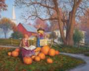 Pumpkins for Sale - 1000pc Jigsaw Puzzle By White Mountain
