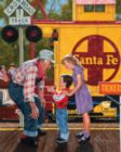 Train Conductor - 1000pc Jigsaw Puzzle By White Mountain