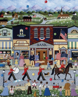 Jigsaw Puzzles - Home Town Parade
