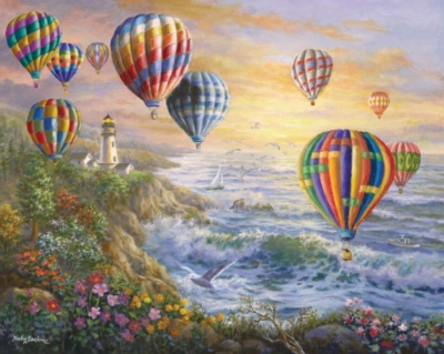 Festival of Balloons - 1000pc Jigsaw Puzzle By White Mountain