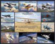 Historic Flights - 1000pc Jigsaw Puzzle By White Mountain