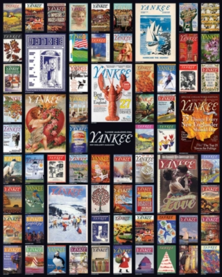 Jigsaw Puzzles - Yankee Magazine Collage