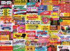 Candy Wrappers - 1000pc Jigsaw Puzzle By White Mountain