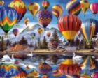Balloon Festival - 1000pc Jigsaw Puzzle By White Mountain