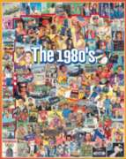 The Eighties - 1000pc Jigsaw Puzzle By White Mountain