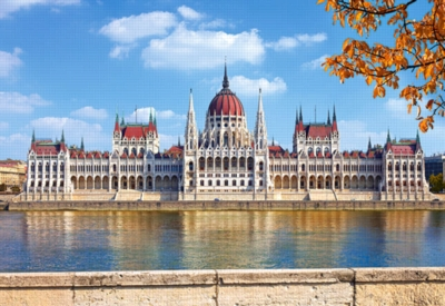Parliament Building, Budapest - 1000pc Jigsaw Puzzle by Castorland