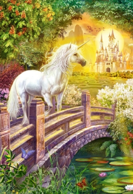 Enchanted Garden - 1000pc Jigsaw Puzzle By Castorland