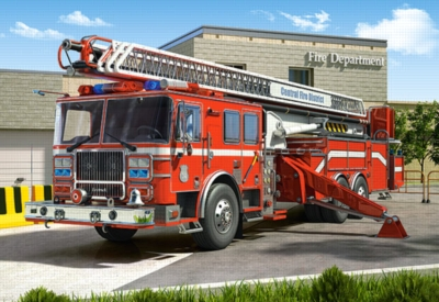 Jigsaw Puzzles - Fire Engine