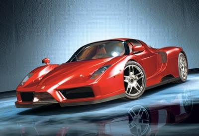 Jigsaw Puzzles - Ferrari Enzo