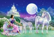 Unicorn Princess - 500pc Jigsaw Puzzle by Castorland