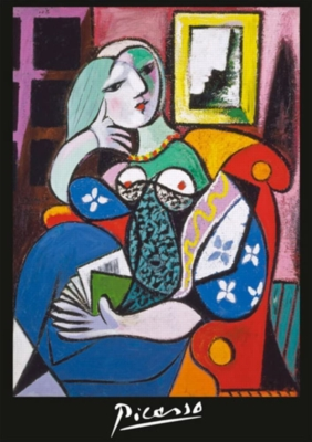 Hard Jigsaw Puzzles - Picasso: Woman with a Book