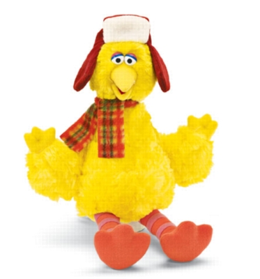 Holiday Big Bird - 10.5'' Sesame Street by Gund