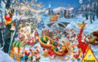 Merry Christmas - 1000pc Jigsaw Puzzle by Piatnik