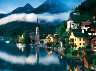 Hallstatt, Austria - 1000pc Jigsaw Puzzle By Buffalo Games