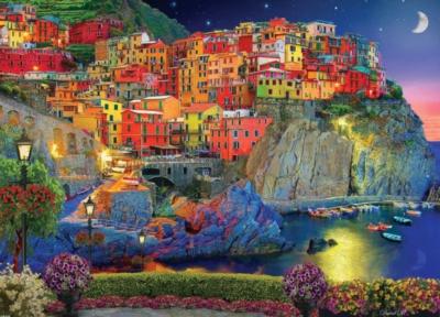 Jigsaw Puzzles - Cinque Terre, Italy