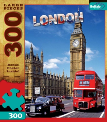 London - 300pc Large Format Jigsaw Puzzle by Buffalo Games