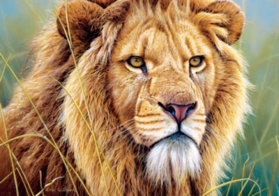King of Beasts - 500pc Jigsaw Puzzle by Buffalo Games