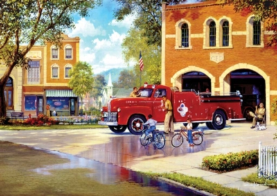 Hometown Heroes - 500pc Jigsaw Puzzle by Buffalo Games