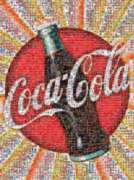 Coca-Cola - 1000pc Photomosaic Jigsaw Puzzle by Buffalo Games