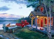 Cabin Fever - 1000pc Jigsaw Puzzle By Buffalo Games