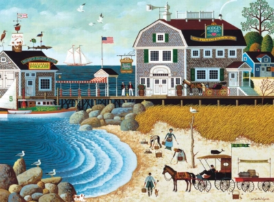 Buffalo Games Jigsaw Puzzles - Clammers at Hodge's