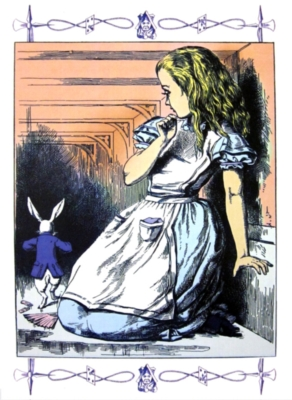Jigsaw Puzzles - Alice In Wonderland: Alice and the White Rabbit