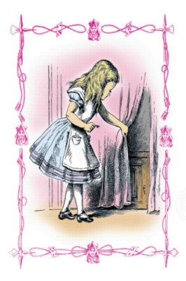 Alice in Wonderland & The Small Door - 513pc Jigsaw Puzzle